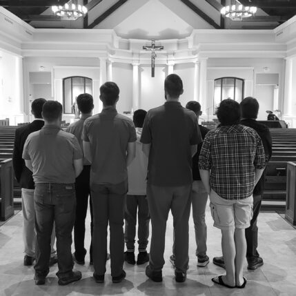 Men's Vocations Gathering – Mass in Roanoke